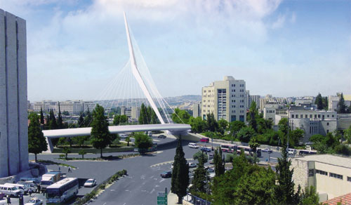 Jerusalem Chords Bridge, Tal Levanon - Mega Project, Joint Venture